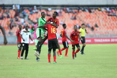 CAN U 17 demi finale Cameroun Angola