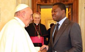 Le président togolais Faure Gnassingbé reçu au Vatican