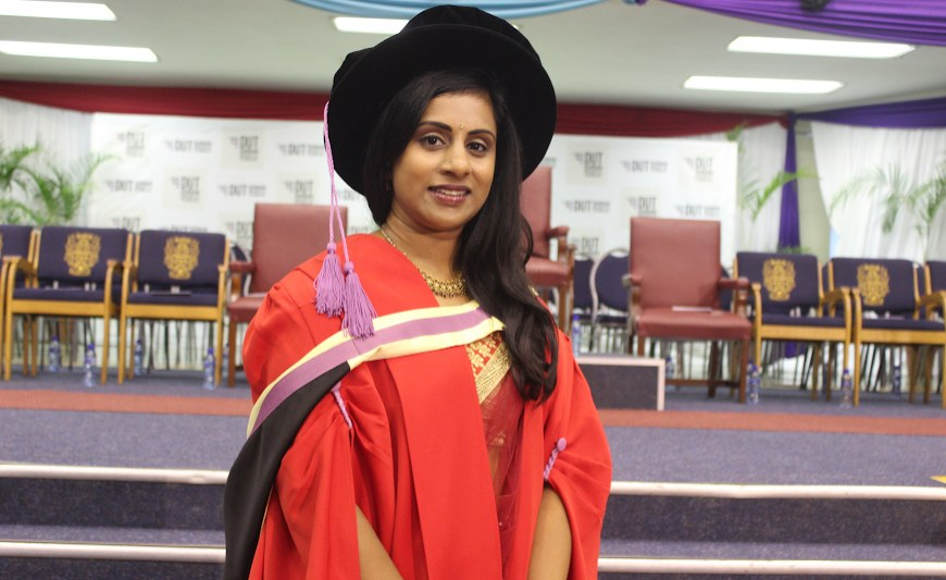 South African Student's Exceptional Masters Thesis Earns Her PhD
