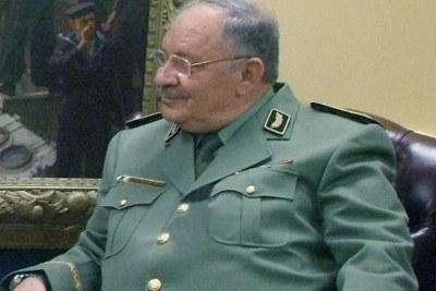 Ahmed Gaid Salah, chef d'état-major de l'armée algérienne.