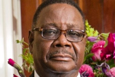 Peter Mutharika, President of the Republic of Malawi.