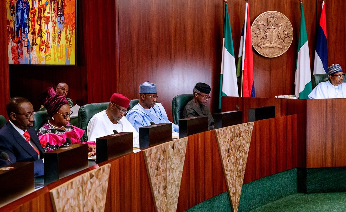 What Buhari Told Ministers At Valedictory Cabinet Meeting