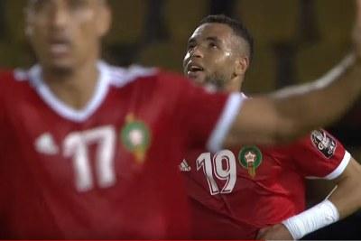 Morocco's Youssef En-Nesyri.