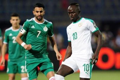 (Photo d'archives) - Sénégal contre l'Algérie - CAN 2019