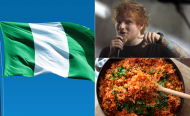 Ed Sheeran, Nigeria, Jollof Rice - Now That's A Holiday!