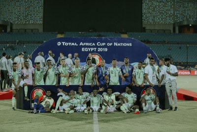Nigeria beats Tunisia to win bronze.