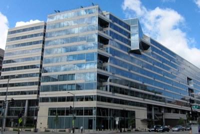 The International Monetary Fund in Washington, D.C.