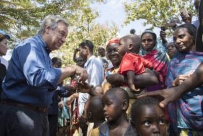 Le Secrétaire général en visite en République centrafricaine.