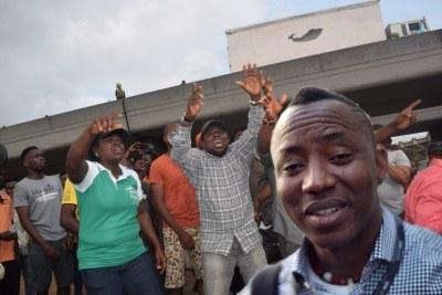 Omoyele Sowore, an activist and publisher of Sahara Reporters, was the presidential candidate of the African Action Congress, AAC, in the last general election.
