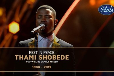 Thami Shobede dies.