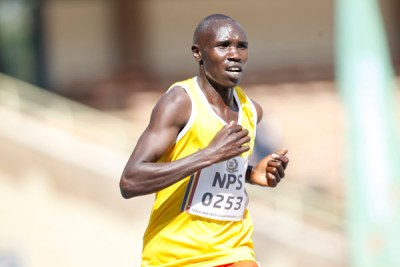 Geoffrey Kamworor (file photo)