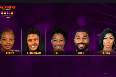 Cindy, Elozonam, Ike, Mike and Tacha are up for eviction.