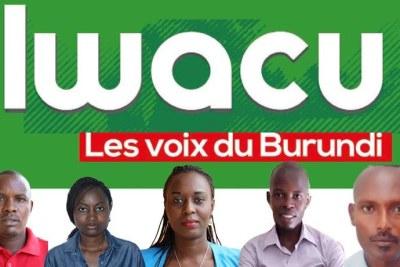 De gauche à droite : Térence Mpozenzi, Agnès Ndirubusa, Christine Kamikazi, Égide Harerimana, et Adolphe Masabarakiza. © 2019 Iwacu