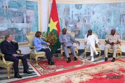 Tournée de la ministre française des armées au Sahel