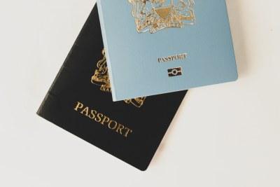 Kenyan passports (file photo).