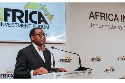 Speech d'u président de la BAD, lors de la conférence de presse inaugurale de l'Africa Investment Forum 2019 (AIF) à Johannesbourg.