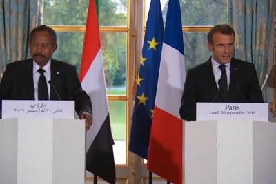 Conférence de presse avec Abdalla Hamdok, Premier ministre du Soudan