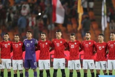 L'équipe egyptienne