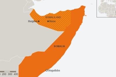 Le Somaliland est une région autonome de la Somalie reconnue internationalement qui chevauche les frontières de l'Éthiopie et de Djibouti.