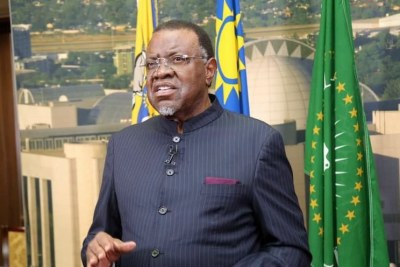 President  Hage G. Geingob (file photo).
