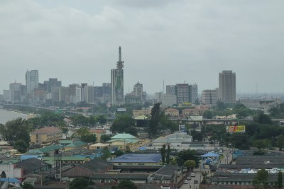 Victoria Island, Lagos (file photo).