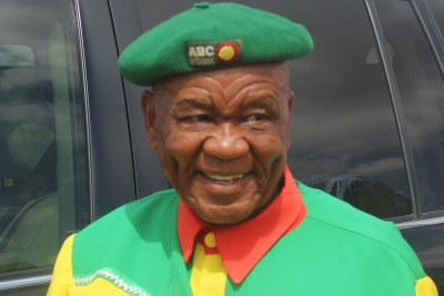 Prime Minister Tom Thabane (file photo).