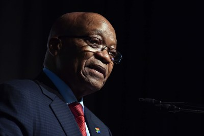 Former president Jacob Zuma (file photo).