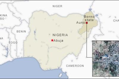 Auno, Borno state, Nigeria.
