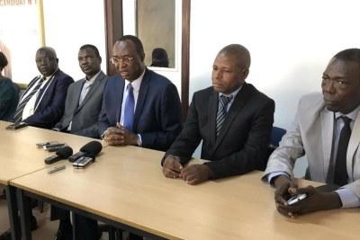 La Coalition de l'opposition démocratique a été officiellement lancée, lundi 10 février 2020, à Bangui.
