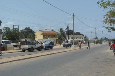 (Photo d'archives) - La ville côtière stratégique de Mocímboa da Praia en 2013.