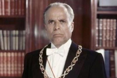Portrait officiel du président Bourguiba (1960).