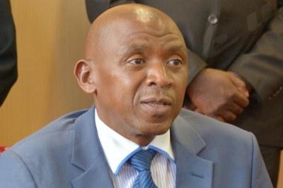 Agathon Rwasa, le leader historique des ex-rebelles des Forces nationales de libération (FNL)