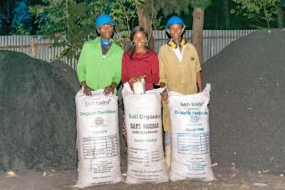 Safi Organics Turns Farm Waste into Black Gold and Poor Farmers into Entrepreneurs