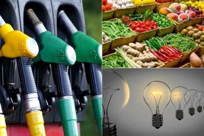 Fuel, food and electricity hike in Nigeria.