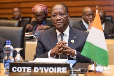 Président Alassane Dramane Ouattara