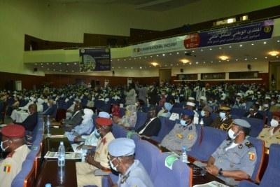 Participants au deuxième Forum National Inclusif tenu du 29 octobre au 1er novembre 2020, au Palais du 15 janvier, à N'Djaména,