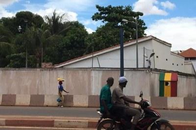 La maison de l'ex-président malien Ibrahim Boubacar Keïta. (Illustration).