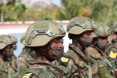 Forces spéciales rwandaises.