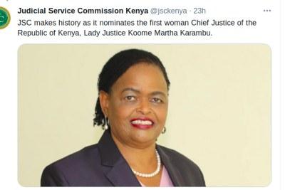 Justice Martha Koome