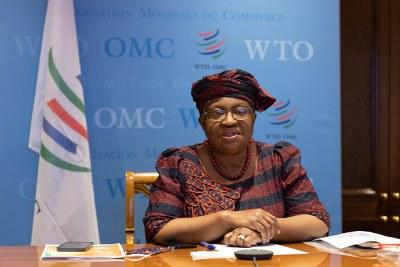 World Trade Organization Director General Okonjo-Iweala (file photo).