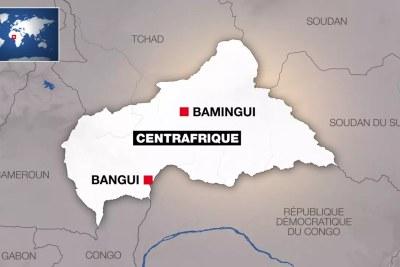La zone de Bamingui, en Centrafrique.