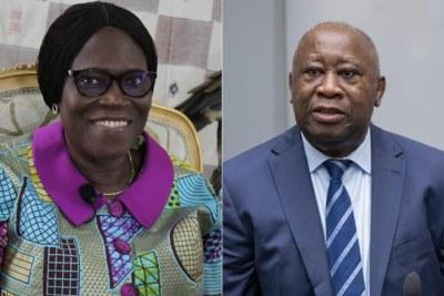 Simone et Laurent Gbagbo