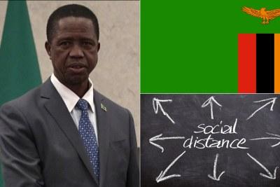 Zambian President Edgar Lungu (file photo).