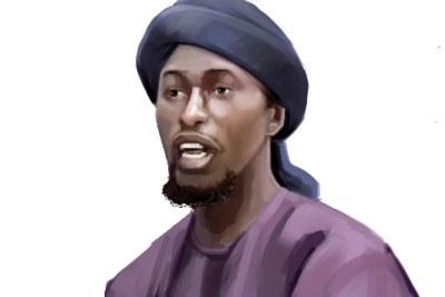 Le défunt chef de la province de l'État islamique d'Afrique de l'Ouest (ISWAP), Abu Musab al-Barnawi (photo d'archives).