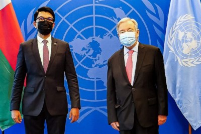En marge de l'Assemblée générale des Nations Unies, le président de la République a rencontré le secrétaire général de cette organisation. Le kere, conséquence du changement climatique a été un des principaux points discutés.